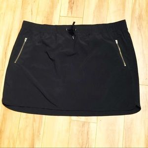 Athleta | Black Excursion Skort